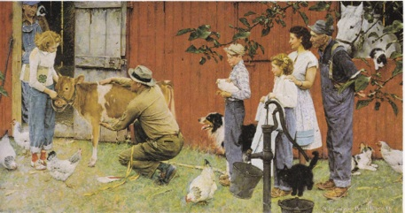Norman Rockwell reduced